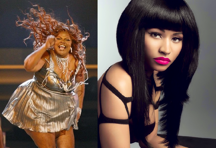 Mo'Nique vs. Nicki Minaj: Who's thick?